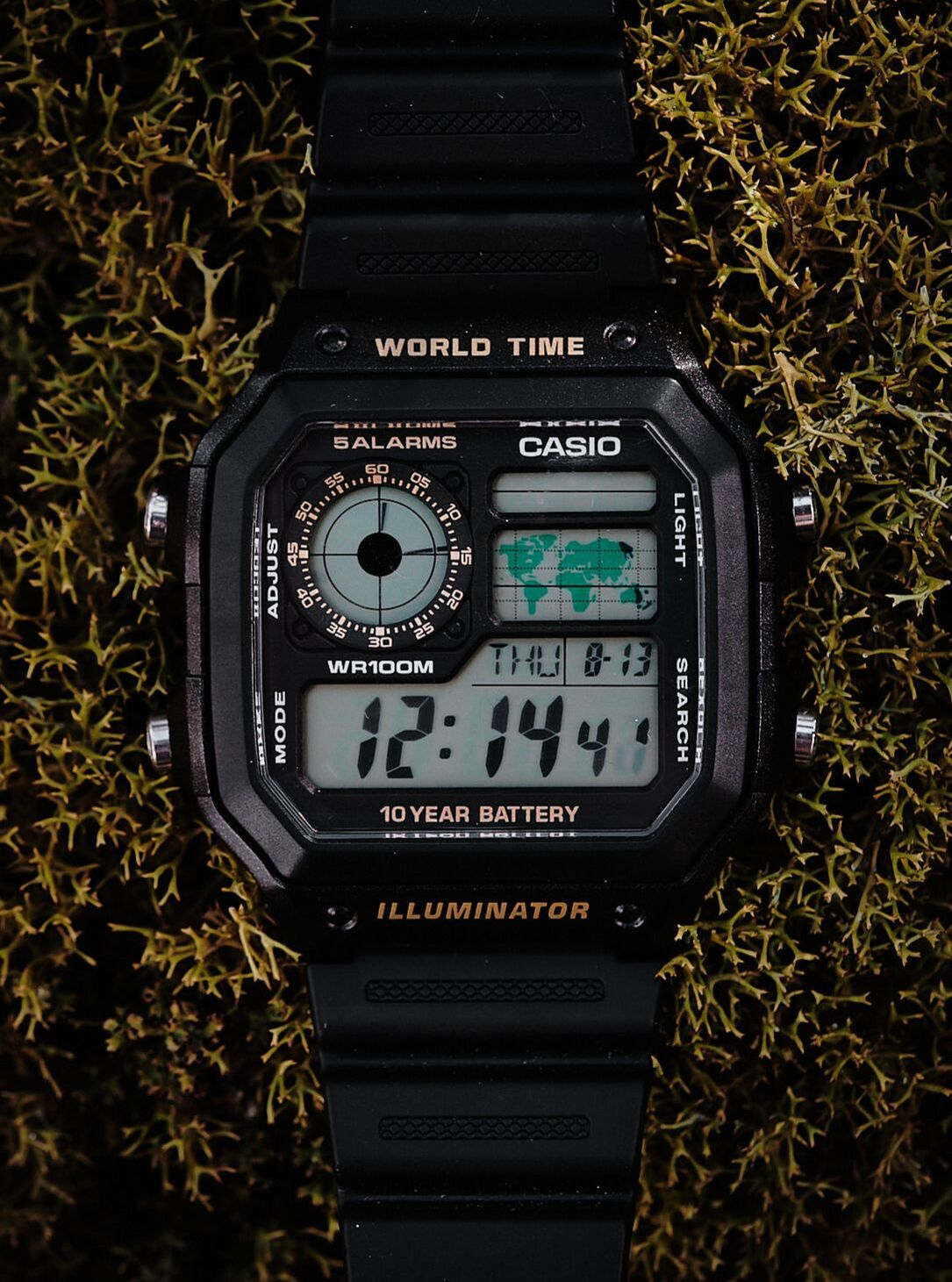 Casio AE1200 photo on esbjorn.com.au
